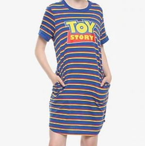 Disney Toy story shirt dress with pockets